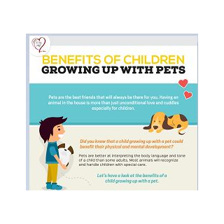 BENEFITS OF CHILDREN GROWING UP WITH PETS