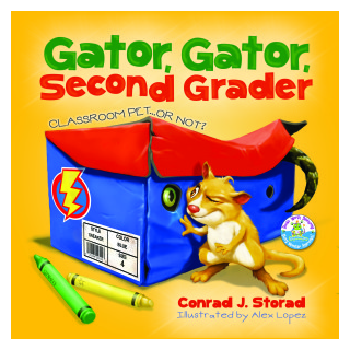 GATOR GATOR SECOND GRADER, CLASSROOM PET ...OR NOT?
