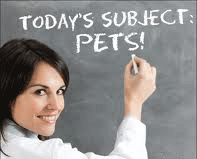 Teaching with classroom pets