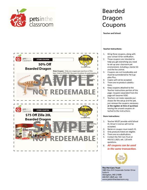 petland discounts coupon samples education grants