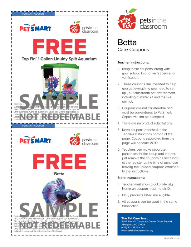 petsmart grant coupon samples education grants