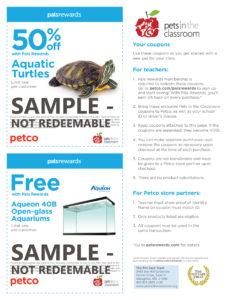 Petco Pets In The Classroom Grant Education Grants
