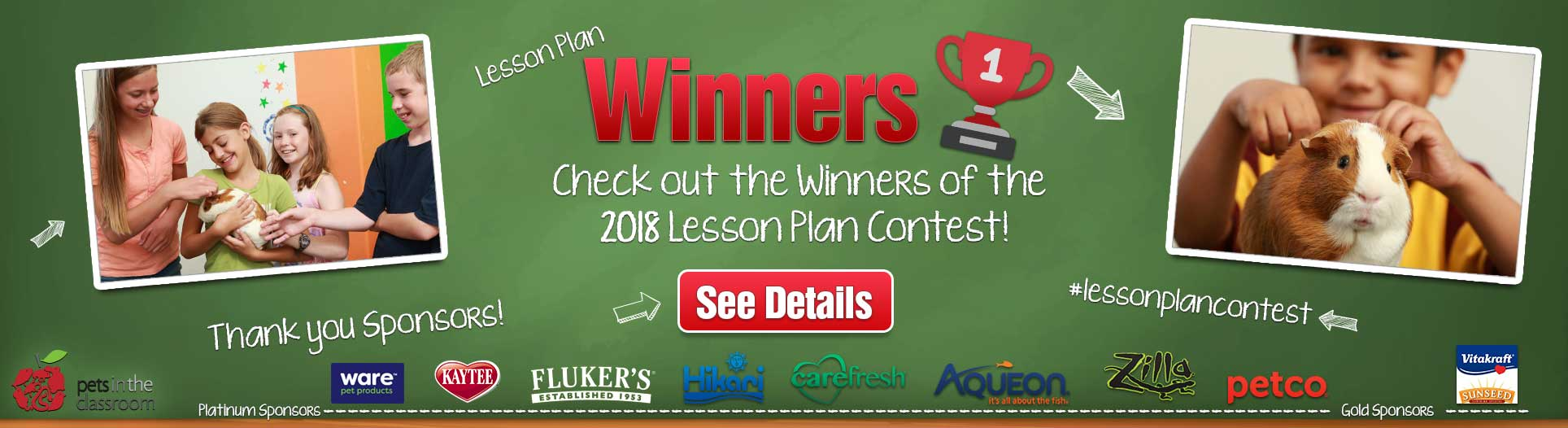 2018 Lesson Plan Contest Winners