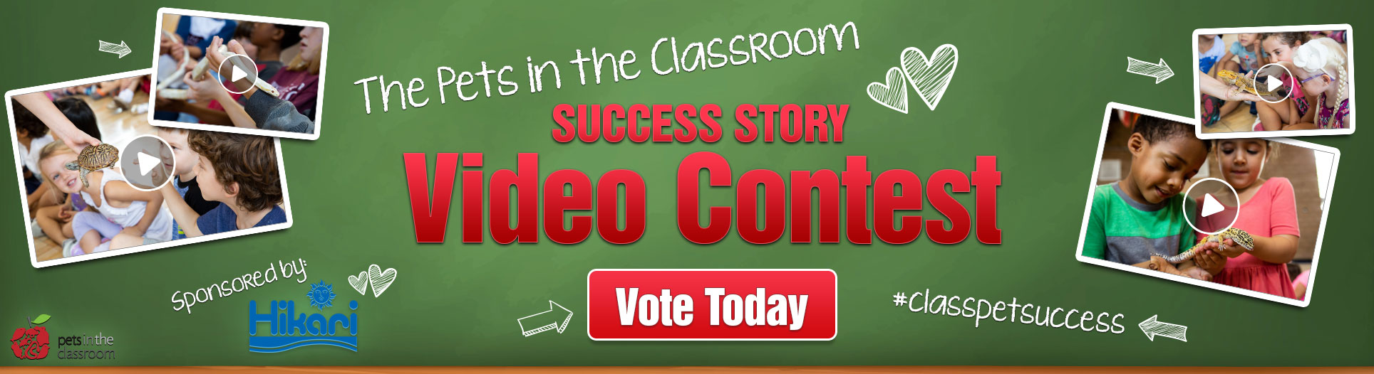 Pets in the Classroom Video Contest